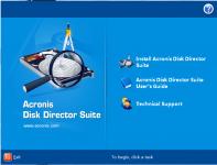 win7下的无损分区软件Acronis.Disk.Director.Suite