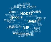 Flash 标签云 For Zblog 1.8 ZBLOG ZBLOG教程  第1张