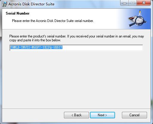 win7下的无损分区软件Acronis.Disk.Director.Suite 软件技巧 WIN7 软件技巧  第2张