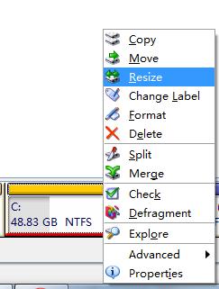 win7下的无损分区软件Acronis.Disk.Director.Suite 软件技巧 WIN7 软件技巧  第5张