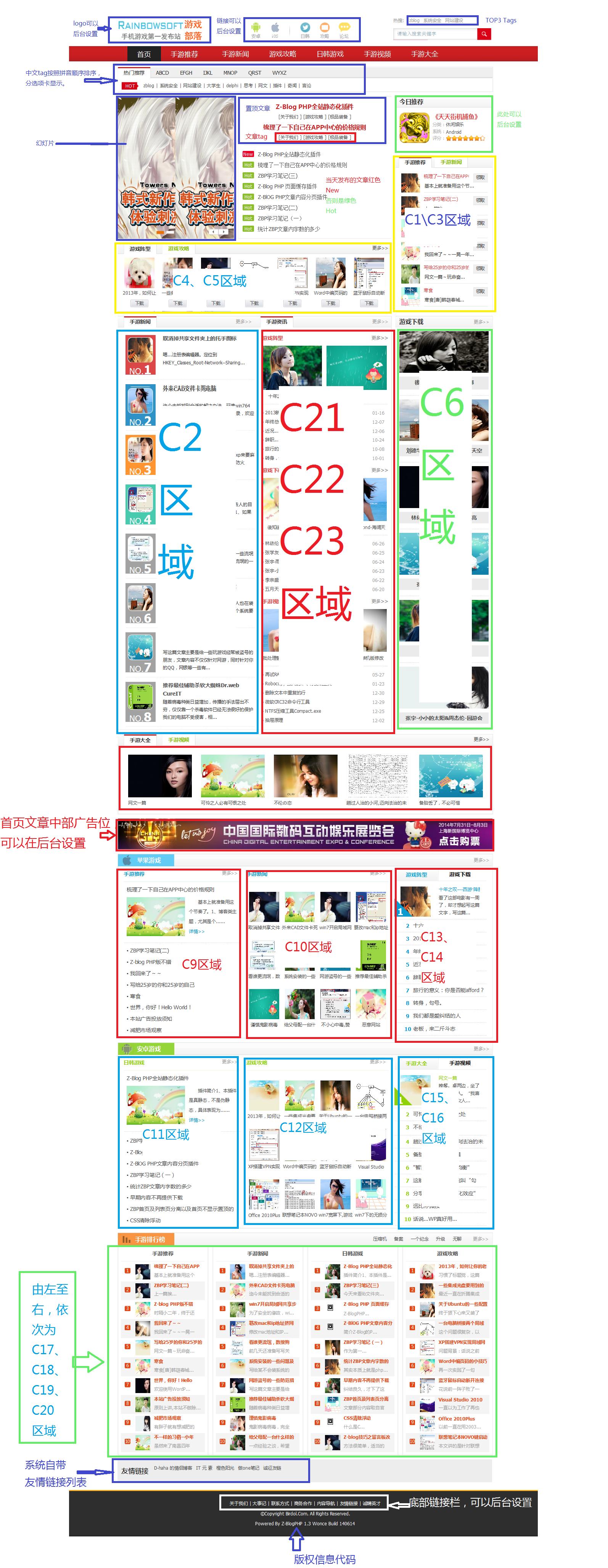 CMS2主题 主题 模板 ZBLOGPHP主题  第4张